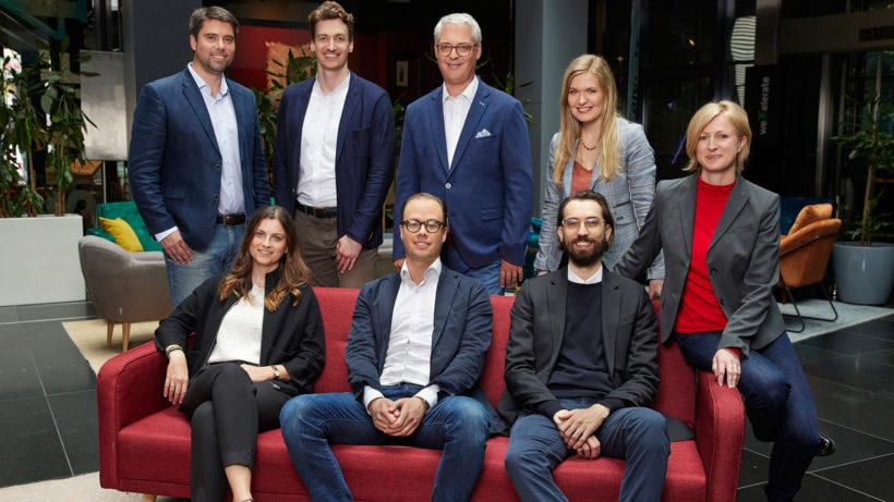 Team von Uniqa Ventures © Uniqa Ventures