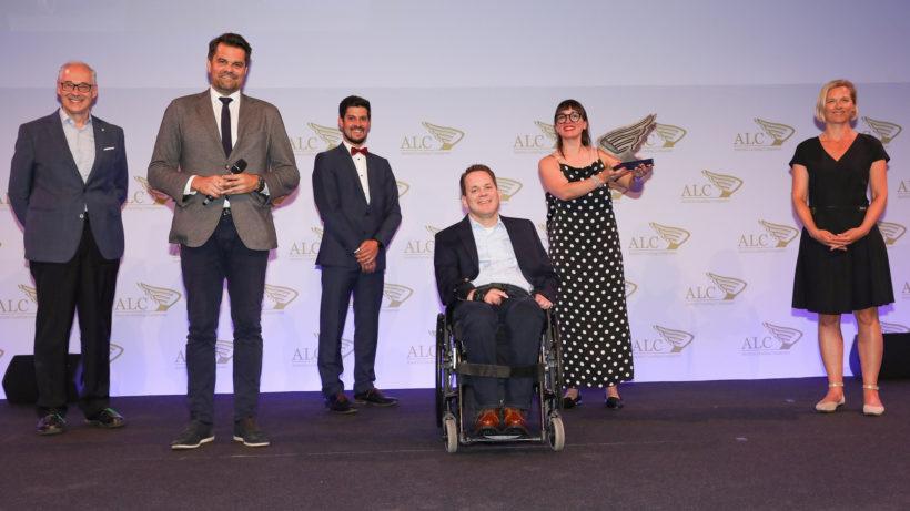 Leadership-Team von myAbility mit dem ALC-Award © myAbility / Renée del Missier