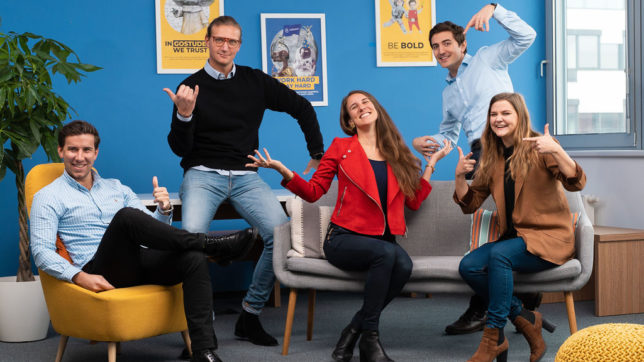 Das Management-Team von GoStudent. © GoStudent
