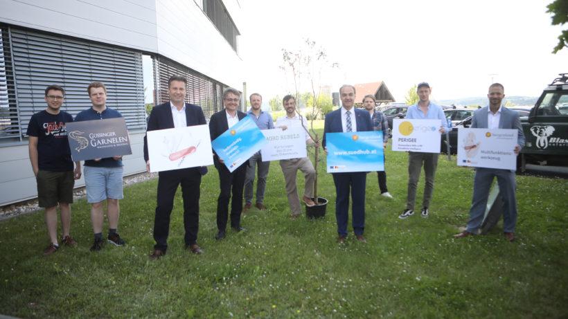 Das sind die ersten Teilnehmer des Startup-Programms © Südhub