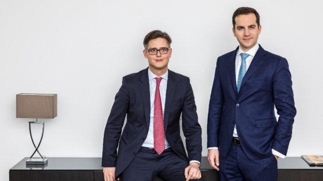 Die Himmelblau-Geschäftsführung: Jacob Homan und Georg Haas. © Himmelblau / k-digital