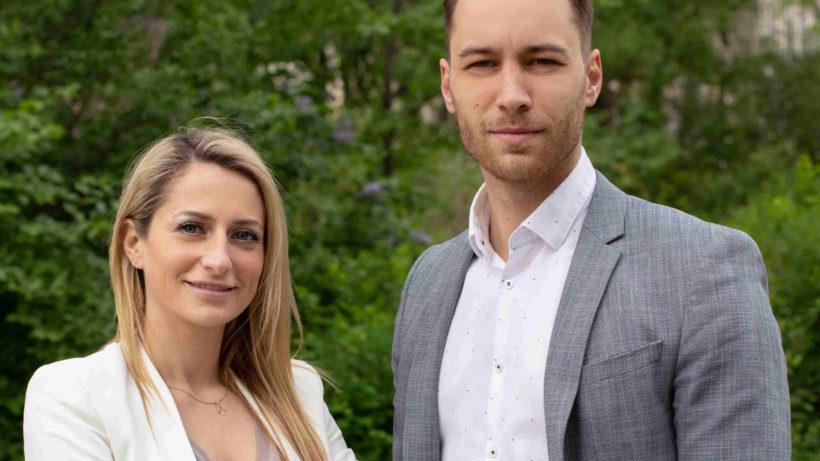 Robert Leder und Aline Martinek von HolyRecipe. © HolyRecipe GmbH