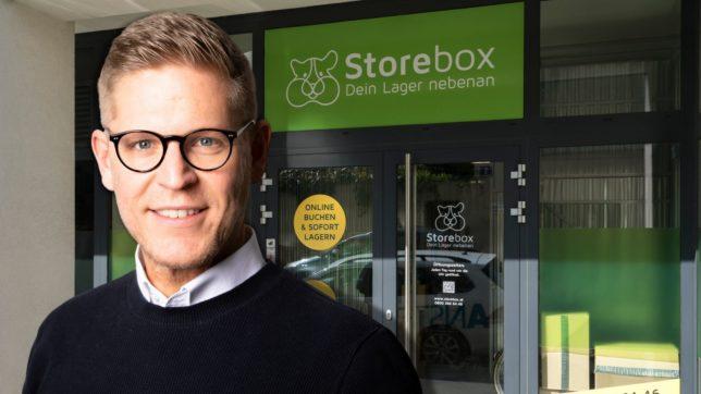 Johannes Braith, CEO von Storebox. © Storebox, Montage Trending Topics