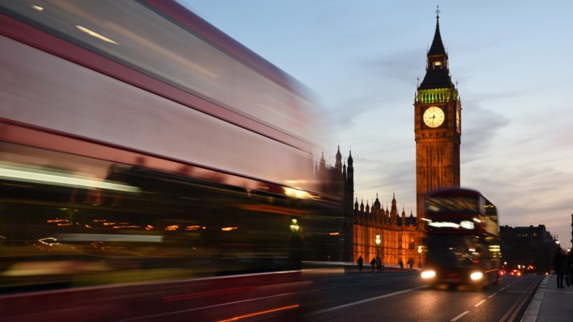 London. © David Dibert on Unsplash