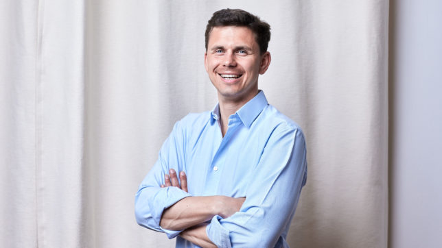 Helu-CEO Franz Salzmann. © Helu.io