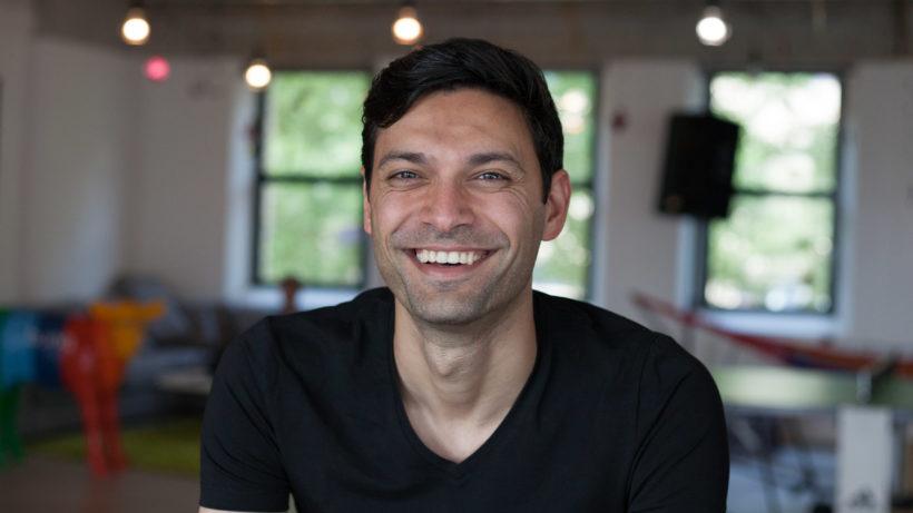 bunq-Gründer Ali Niknam. © bunq