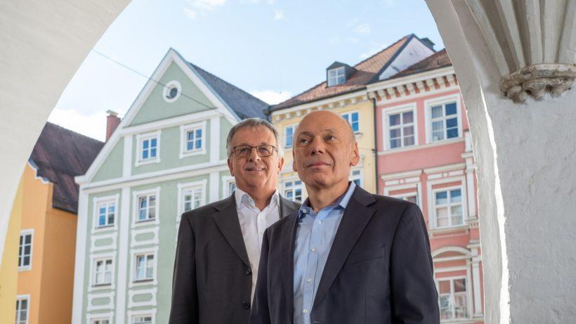 Geschäftsführung der Bayern Kapital GmbH: Roman Huber (links), Dr. Georg Ried (rechts). © Bayern Kapital GmbH