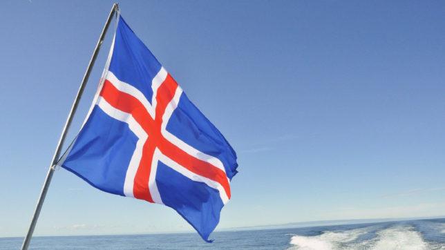 Island-Flagge © PublicDomainPictures on Pixabay