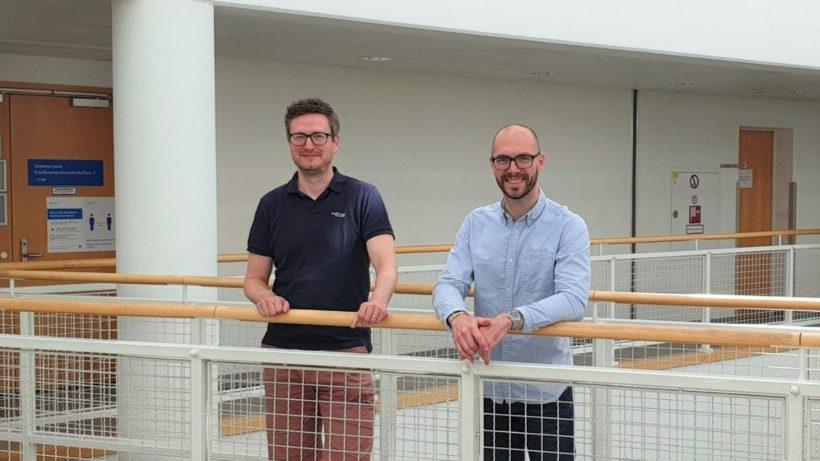 Cutanos-Gründer Christoph Rademacher und Robert Wawrzinek © Maxime Denis
