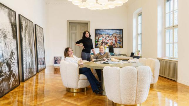 Das Geschäftsführer-Trio von Thurn & Bauer: Ursula Kohl, Peter Bartos und Birgitt Kohl. © Thurn & Bauer