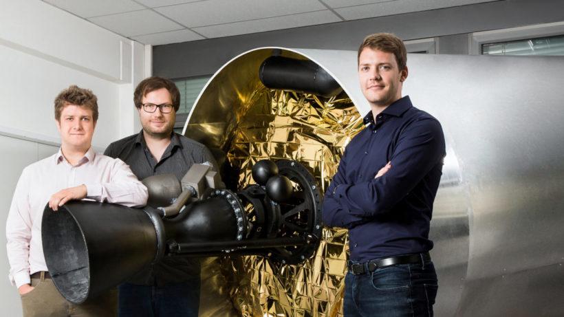 Die Gründer von Isar Aerospace. © Isar Aerospace