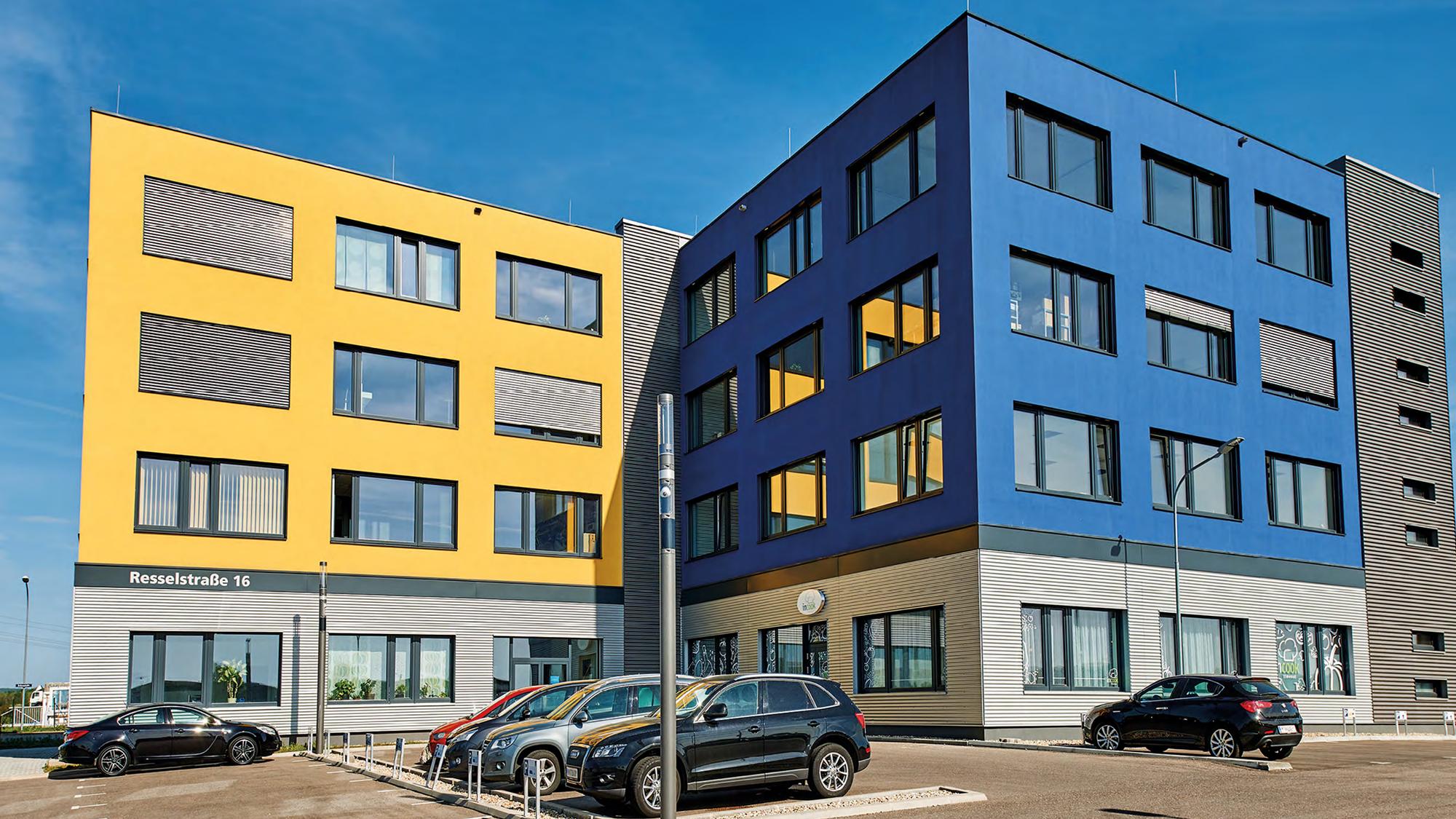 Das Ecocenter im Wirtschaftspark Wolkersdorf beherbergt die Startrampe der Erste Bank. © Ecoplus
