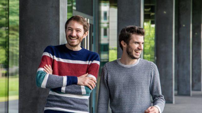 Markus Koblmüller und David Schellander von TeamEcho. © TeamEcho