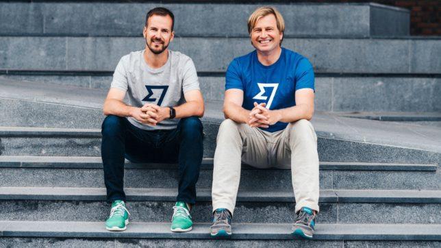 Taavet Hinrikus und Kristo Käärmann, die Gründer von Wise. © Wise.com