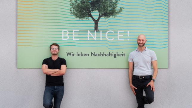 Shöpy-Gründer Christian Pittner und niceshops-Chef Christoph Schreiner. © Shöpy