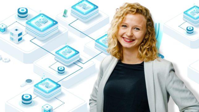Lisa Höllbacher, CE und Mitgründerin von Nexyo. © Nexyo