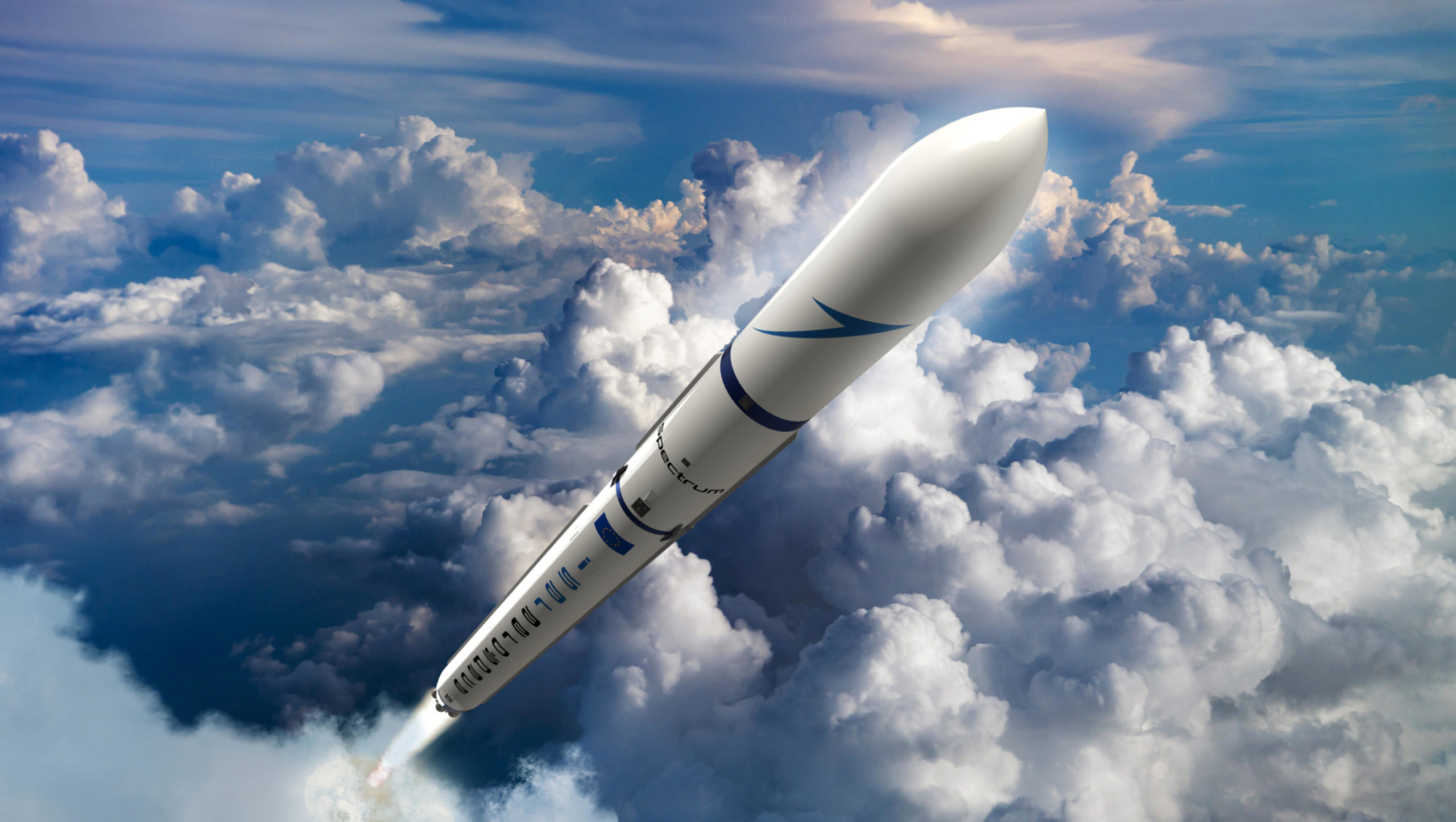 Spectrum-Rakete von Isar Aerospace. © Isar Aerospace