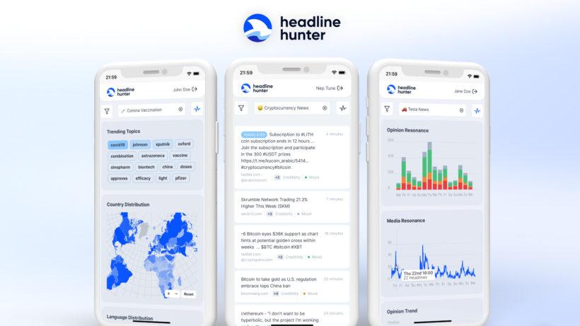Web-App HeadlineHunter © Neptun Data Processing