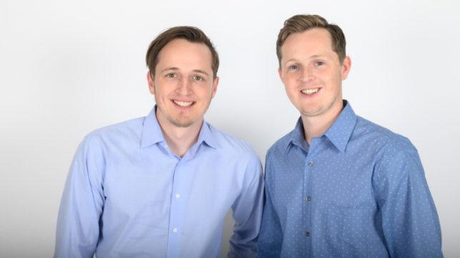 Taxbit-Gründer Justin Woodward und CEO Austin Woodward © Taxbit