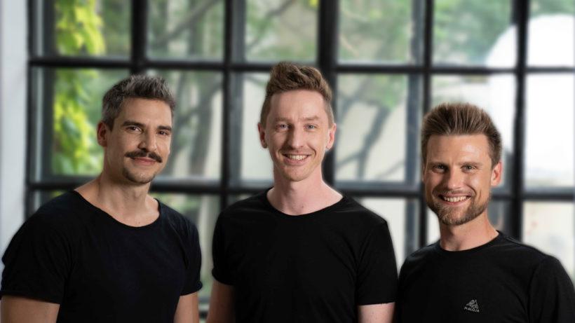Jürgen Furian, Vinzenz Weber und Mario Aichlseder von Hello Inside. © Hello Inside