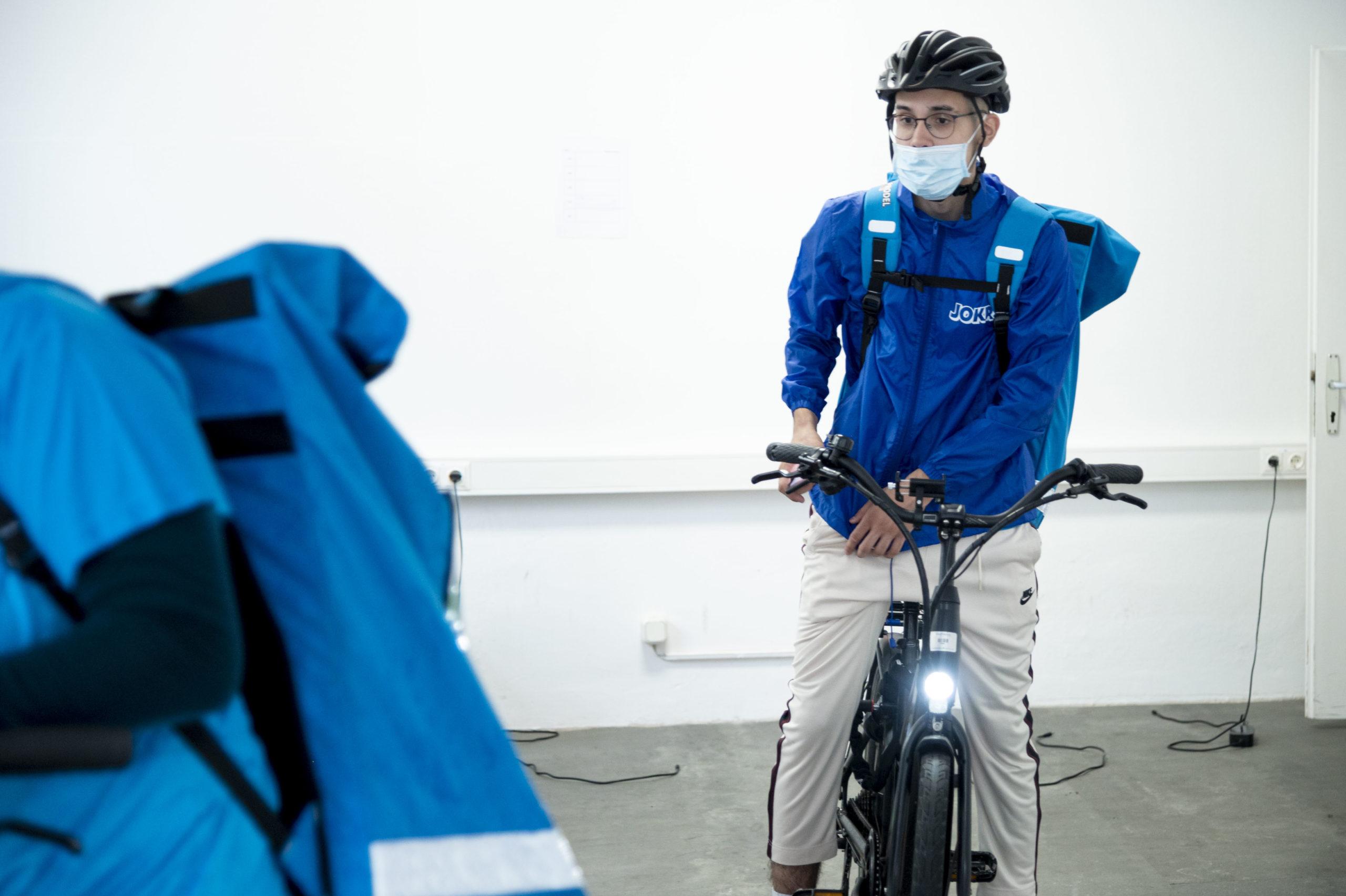 Ein Rider macht sich auf den Weg © Trending Topics / Julia Pabst