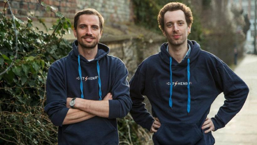 GetHenry-Gründer Luis Orsini-Rosenberg und Nikodemus Seilern © PRVA Newcomers