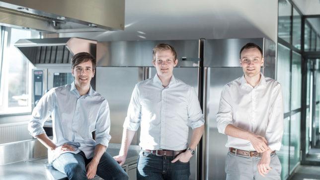 Die Gronda-Gründer Valentin Schütz, Juan Vicci und Tobias Zetzsche. © Gronda