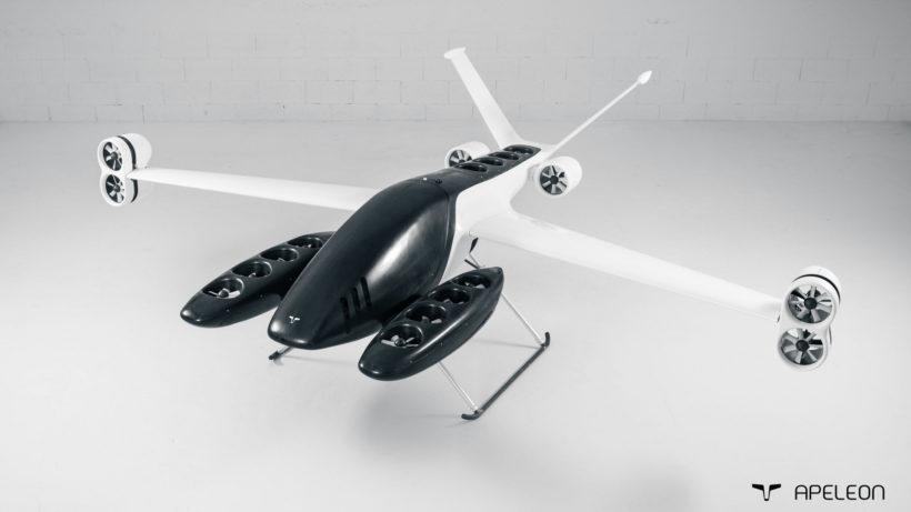 "Demonstrator des ""Planecopters"" von Apeleon © APELEON"