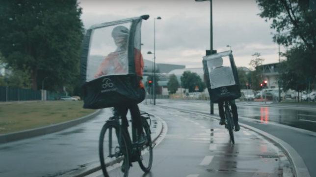 BikerTop: Regenschutz fürs Fahrrad © BikerTop