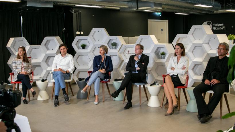 Podiumsdiskussion beim FFG Hub Circle © BMDW/Dolenc