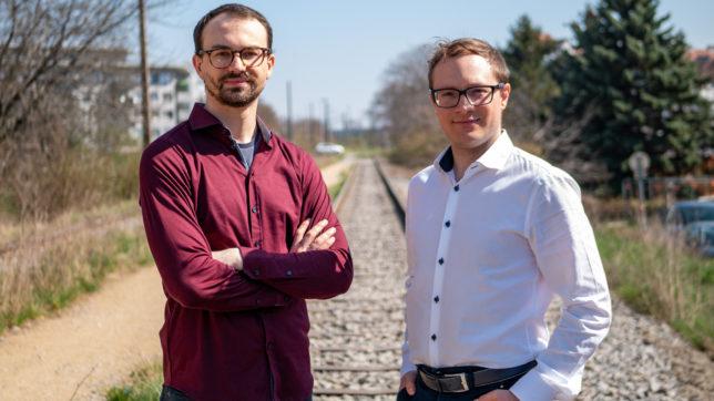 Senseven-Gründer Christoph Altmann und Michael Hettegger © Senseven