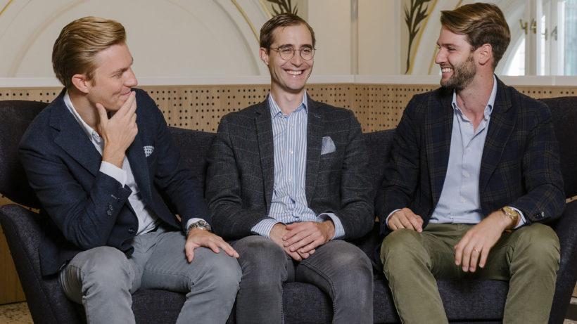 Rendity-Gründer Lukas Müller, Tobias Leodolter und Paul Brezina © Rendity