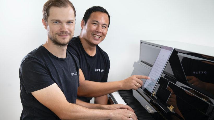 Die Oktav-Gründer David Kitzmüller und Toni Luong. © Oktav