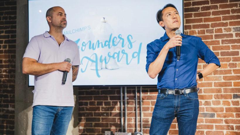 Ben Chestnut und Dan Kurzius, die Gründer von Mailchimp. © Mailchimp