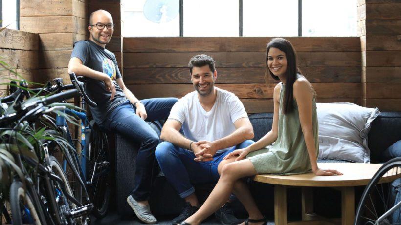 Das Gründer-Team von Canva. © Canva