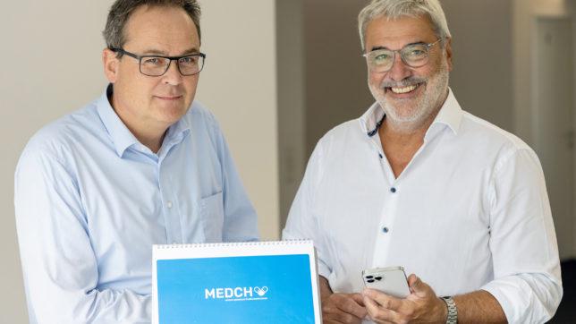 Wolfgang Hilbe und Gerhard Feilmayr, Gründer von MEDCH. © Medch GmbH