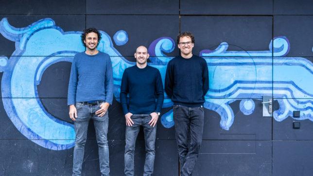 Die Tomorrow-Gründer Inas Nureldin, Michael Schweikart und Jakob Berndt. © Tomorrow