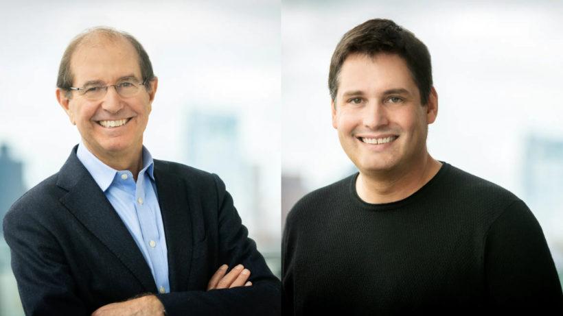 Silvio Micali (Gründer) und Steve Kokinos (CEO) von Algorand. © Algorand