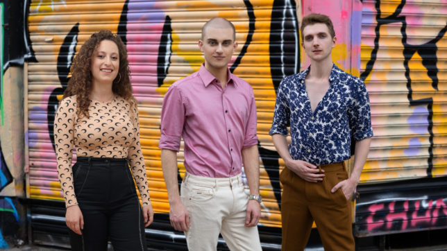 Araxie Boyadjian, Christopher El Badaoui und Joshua Armistead von LVNDR. © LVNDR