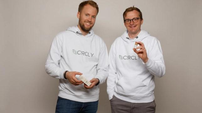 Maximilian Munz und Oliver Kremer von Circly. © Circly