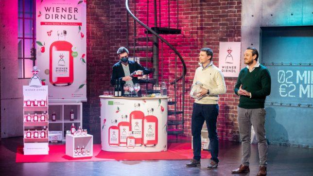Wiener Dirndl-Gründer Raul Kalmar und Philipp Schmidt © Puls 4/Gerry Franke