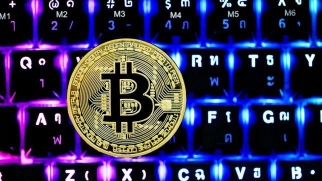 Bitcoin auf Tastatur. © Executium on Unsplash