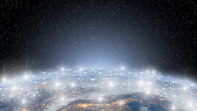 Blockchain über Europa. © Gerd Altmann auf Pixabay