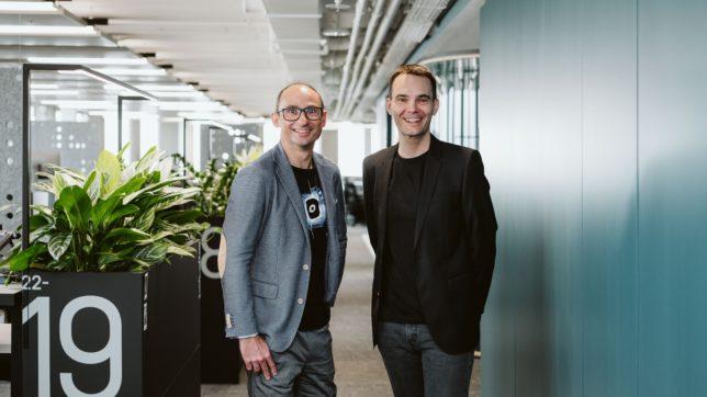 Bernd Greifender und Florian Dorfbauer von Dynatrace. © Dynatrace
