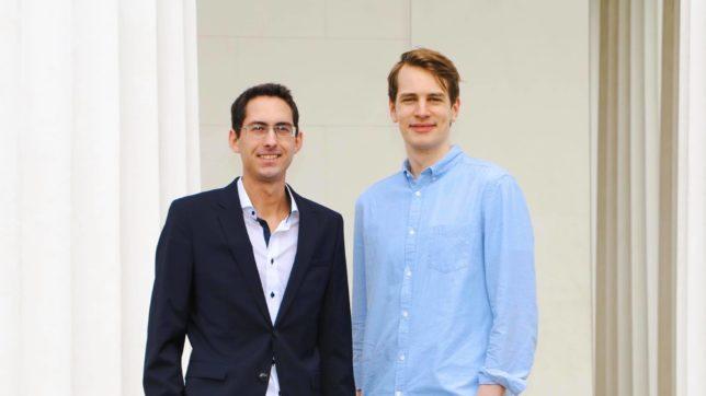Christian Kindlinger und Jürgen Ulbrich von Sprad.io. © J. Ulbrich
