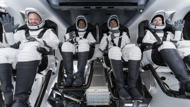 SpaceX-Crew. © SpaceX (CC BY-NC 2.0)