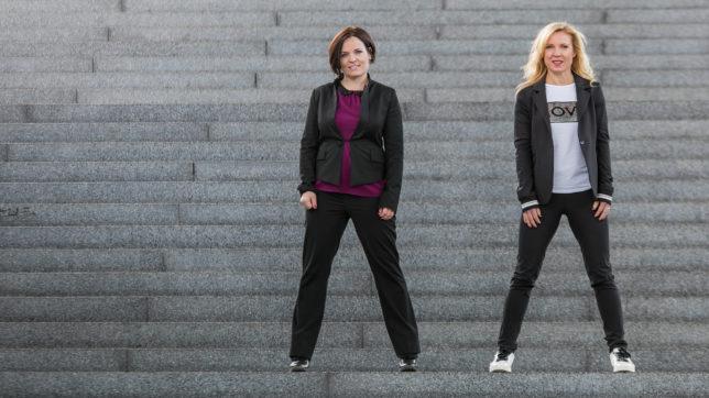 Katja Ruhnke und Conny Hörl, die Gründerinnen von CK Ventures © CK Ventures