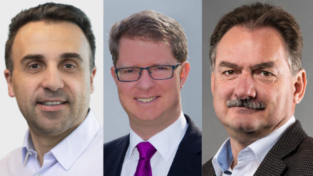 Zoltan Fazekas, Christoph Drescher und Erwin Toplak von MyPrivacy © MyPrivacy