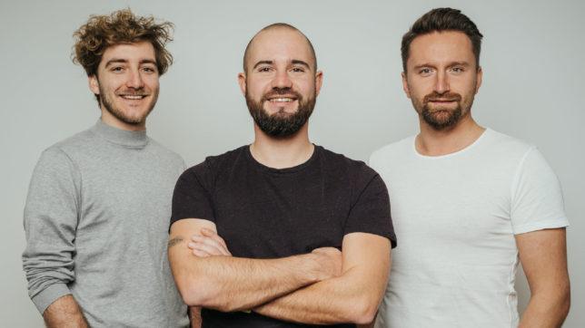 (v.l.n.r.) Propup-Gründer Timo Schwarzkopf, Michael Reikersdorfer und Kristof Konstantin © Propup