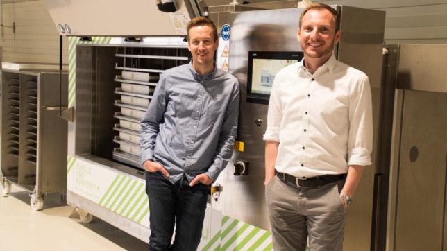 Thomas Wurm und Johannes Kirchmair, Gründer von Single Use Support © Single Use Support